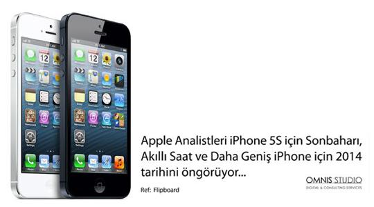 iPhone'la İlgili 2013 Söylentileri