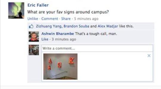 Facebook Yorumlarına Fotoğraf Ekleme Özelliği Geldi!