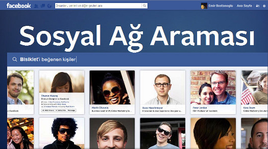 Facebook  'Sosyal Ağ Araması' Açıklandı!
