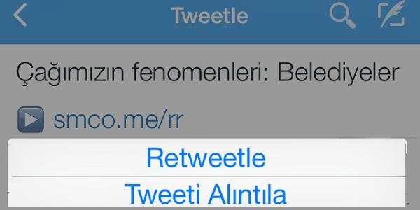Twitter'dan yeni özellik geliştirmesi: Tweet'i Alıntıla